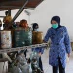 Pemkab Purwaķarta Terus Mendorong Pelaku Industri Keramik Kembangkan Hasil Produksinya
