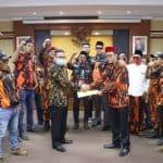 Ketua DPRD Terima MPC Pemuda Pancasila Purwakarta Tolak RUU HIP