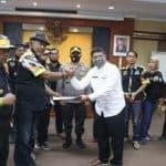 Sekretaris DPRD Purwakarta dan Kapolsek Jatiluhur Menerima Pernyataan Sikap GMBI Tolak RUU HIP