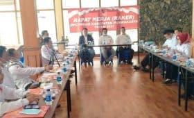 Anggota DPRD Purwakarta Hadiri Raker Ormas Projo di Istora Jatiluhur