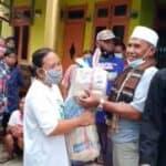 Bantuan Korban Banjir di Pamanukan Subang dari DKM Mesjid Al-Ikhlas Purwakarta