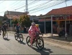 Bupati Anne Jajal Rute Terfavorit Pencinta Gowes di Purwakarta Panjangnya 16 kilometer
