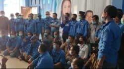 Kader FKKGD Kabupaten Karawang, Jawa Barat menolak tegas KLB Sumatera Utara dan tetap mendukung kepemimpinan AHY
