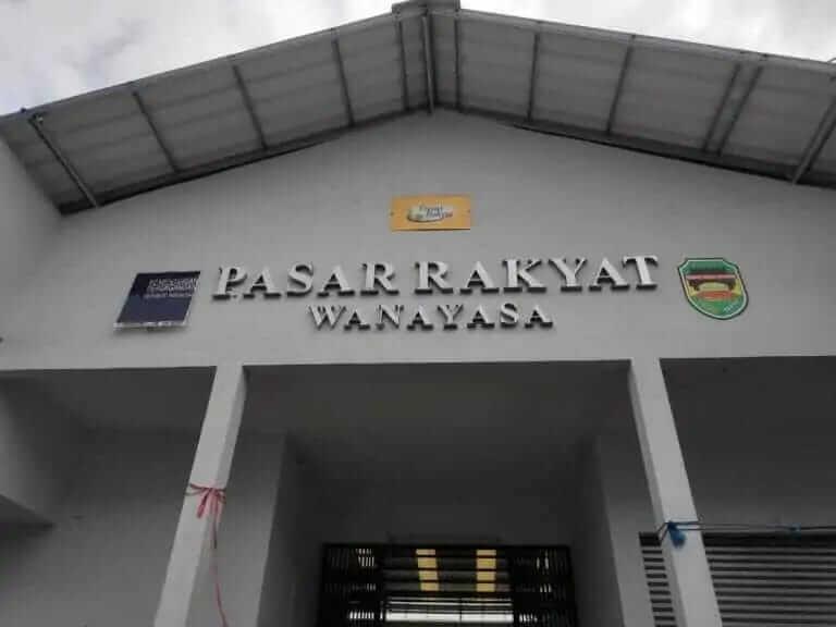 Pasar Rakyat Wanayasa