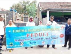 Rumah Guru Ngaji Mak Yeyeh Dibangun Forum e-warung Ciranjang