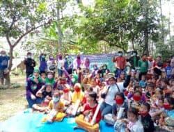 Waka DPRD Purwakarta, Neng Supartini Dampingi Istri Cak Imin Lakukan Trauma Healing Tegalwaru