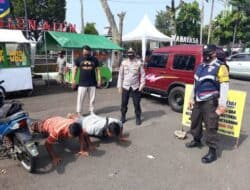 Puluhan Warga Kecamatan Wanayasa Terjaring Operasi Yustisi Prokes Covid-19