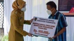 Pemkab Salurkan Bantuan Sosial Tunai  Kepada 15000 KPM