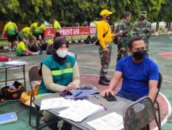 Prajurit Kodim 0619/Purwakarta Menggelar Tes Garjas Secara Rutin dan Berkala