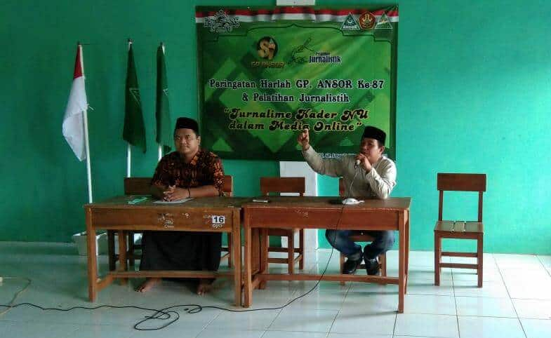 GP Ansor Pelatihan Jurnalistik
