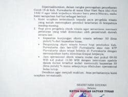 Ketua Harian Satgas Covid-19 Purwakarta; Pengelola Wisata Yang Tidak Patuhi Prokes Diadakan Penutupan