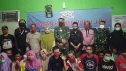 Dandim 0608 Cianjur Bersama Ketua Klinik Harapan Sehat Kunjungi YRPJ Ciranjang