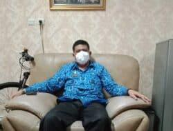 Sekretariat DPRD Purwakarta Qurban 2 Ekor Domba Di Hari Raya Idul Adha 1442 H/2021 Masehi