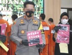 Satresnarkoba Polres Purwakarta Ungkap 11 Kasus Penyalahgunaan Narkotika
