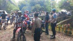 Satgas Covid-19 Purwakarta Bubarkan Event Motocross di Jatiluhur