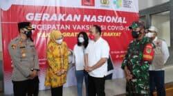 Ketum DPP Projo Budi Arie Menghadiri Gerakan Vaksinasi Gratis Untuk Rakyat di Purwakarta