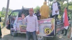 Cakades Cikaobandung Nomer Urut 5 Candra Kirana Gelar Kampanye Keliling