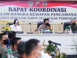 Polres Purwakarta Gelar Rakor Persiapan Pengamanan Pilkades